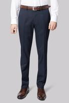 Moss Bros Slim Fit Machine Washable Navy Pants