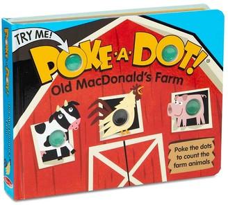 Melissa & Doug Poke-A-Dot Old MacDonald's Interactive Board Book