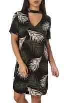 Dorothy Perkins Women's Print Choker Shift Dress