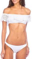 Polo Ralph Lauren Lace Off-The-Shoulder Bikini Top