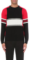 Givenchy Colour-block Wool Jumper