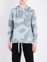 MHI Camouflage cotton-jersey hoody