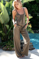Tysa Eagle Jumpsuit In Olive