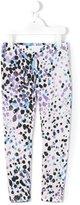Roberto Cavalli animal print leggings - kids - Cotton/Spandex/Elastane - 2 yrs