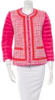 Moncler Prune Tweed Jacket w/ Tags