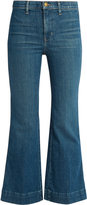 The Great The Sea high-rise flared cropped jeans