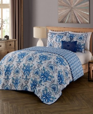 Geneva Home Fashion Tabitha 5 Pc Queen Quilt Set