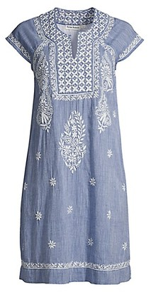 Roller Rabbit Chambray Faith Dress