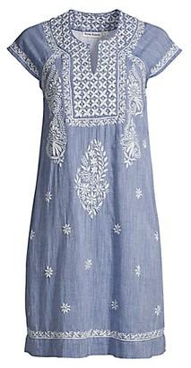 Roller Rabbit Chambray Faith Dress