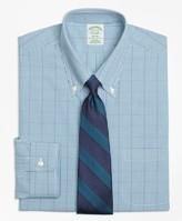 Brooks Brothers Milano Slim-Fit Dress Shirt, Non-Iron Gingham