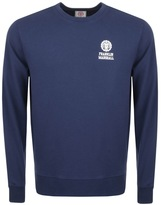 Franklin & Marshall Franklin Marshall Logo Sweatshirt Navy
