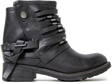 Coolway Black Leather Baru Boot