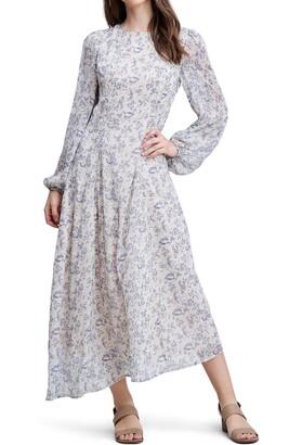 En Saison Floral Long Sleeve Maxi Dress