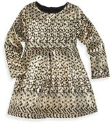 Billieblush Toddler's, Little Girl's & Girl's Long Sleeve Jacquard Dress