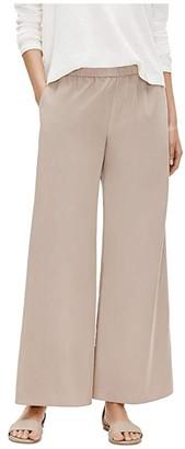 Eileen Fisher Wide Leg Pants (Bramble) Women's Casual Pants