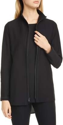 Eileen Fisher Stand Collar Jacket