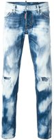 DSQUARED2 Slim bleached distressed jeans