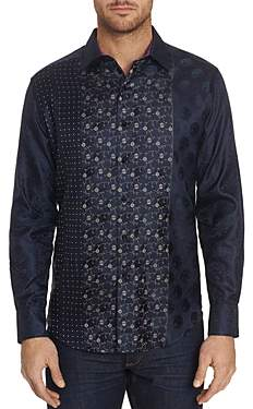 Robert Graham Limited Edition Pattern-Block Classic Fit Shirt