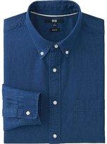 Uniqlo Men's Slim-Fit Denim Shirt