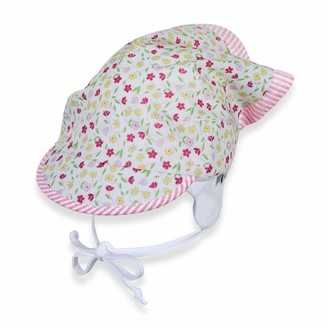 Sterntaler Girls Floral Headscarf incl. Bow Strings Age: 9-12 Months Size: 47 cm