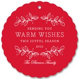 Minted Joyful Season Holiday Ornament Cards