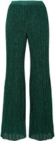 Missoni knitted lurex trousers