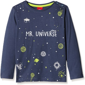 S'Oliver Baby Girls' 65.711.31.7794 Longsleeve T-Shirt