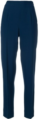 Moschino Pre-Owned High-Rise Tapered Trousers