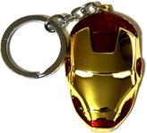Marvel Movie Comics Avengers Iron Man Metal Mask Pendent Key Ring Key Chain