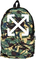 Off-White Camouflage Print Backpack