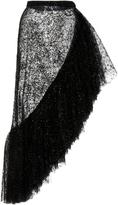 Rodarte Asymmetric Ruffle Skirt
