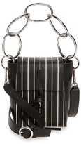 3.1 Phillip Lim Small Leigh Top Handle Leather Crossbody Bag - Black