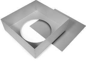 Cake Alan Silverwood Ltd - Square Tin Loose Base 11 Inch