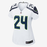 Nike NFL Seattle Seahawks Game Jersey (Marshawn Lynch) Women's Football Jersey