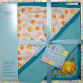 Starting Small Wash and Dry Bathtime Boxed Gift Set in Blue