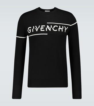 Givenchy Sliced logo crewneck sweater