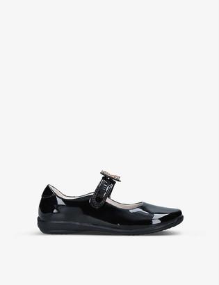 Lelli Kelly Kids Prinny diamante-princess detail patent-leather shoes 4-10 years