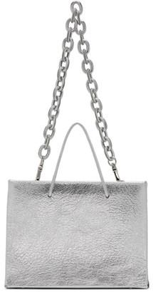 Medea Silver Leather Chain Hanna Bag