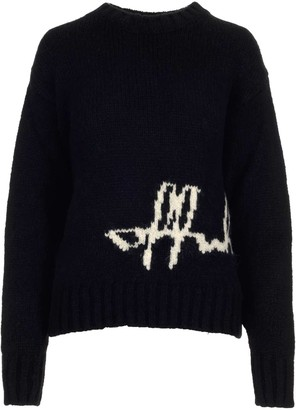 Off-White Logo Knitted Sweater