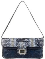 Kara Ross Python Shoulder Bag