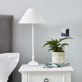 The White Company Cowley Table Lamp, Black, One Size