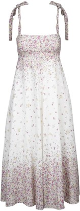 Zimmermann Carnaby Tie Shoulder Dress