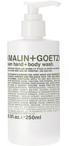 Malin+Goetz Rum Hand + Body Wash.