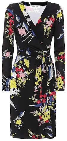 Diane von Furstenberg Julian floral-printed silk dress