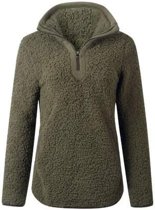 Goodnight Macaroon 'Tara' Pink Half-Zip Fleece Pullover (5 Colors)