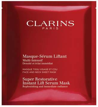Clarins 5-Pack Super Restorative Instant Lift Serum Mask