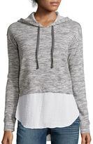 A.N.A a.n.a Long-Sleeve Layered-Look Hoodie Sweatshirt- Petite
