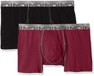 Dim Men's 3D Flex MORPHOTECH Boxer X2 Shorts, Multicolour (GRIS Granit/VERT KAKI 8NU), (Size : 6) (Pack of 2)