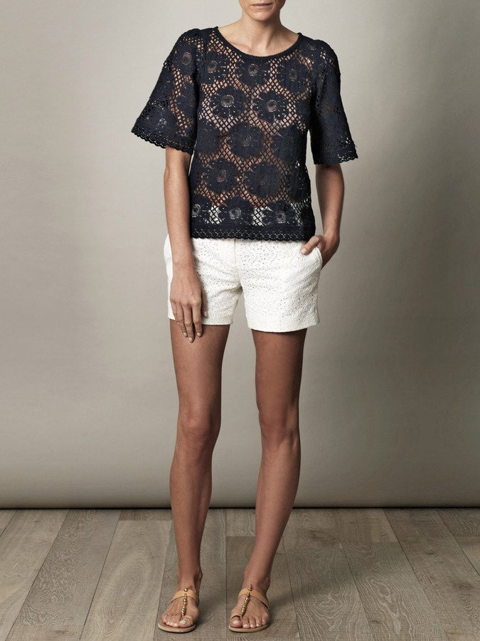 Collette Dinnigan Collette by Santa Fe lovers lace top