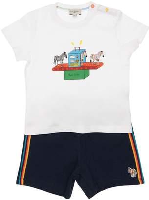 Paul Smith Cotton Jersey T-Shirt & Piquet Shorts